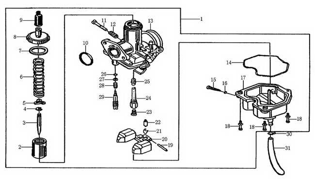 spare parts for engine parts -- u0026gt  cg125 156fmi    cg150 162fmj